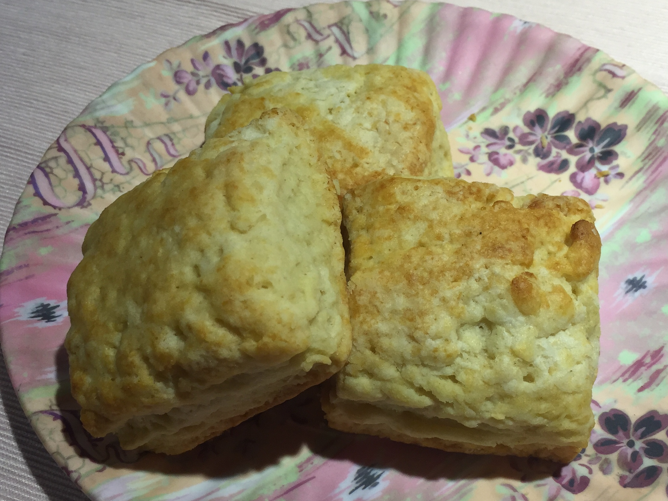 Biscuits - these are basic - go ahead and have fun making these.