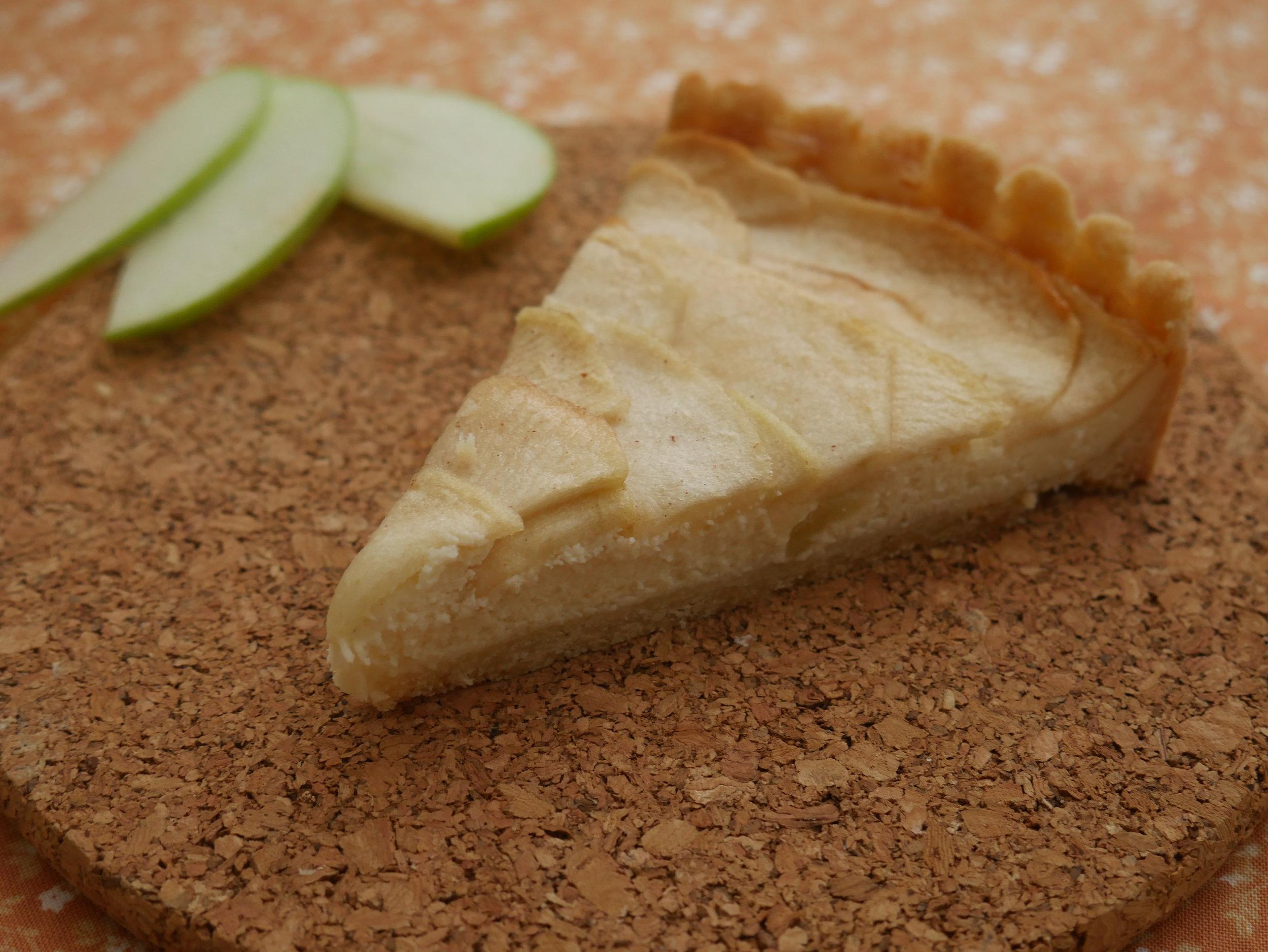 Ready for Fall - Apple Cream Cheese Tart