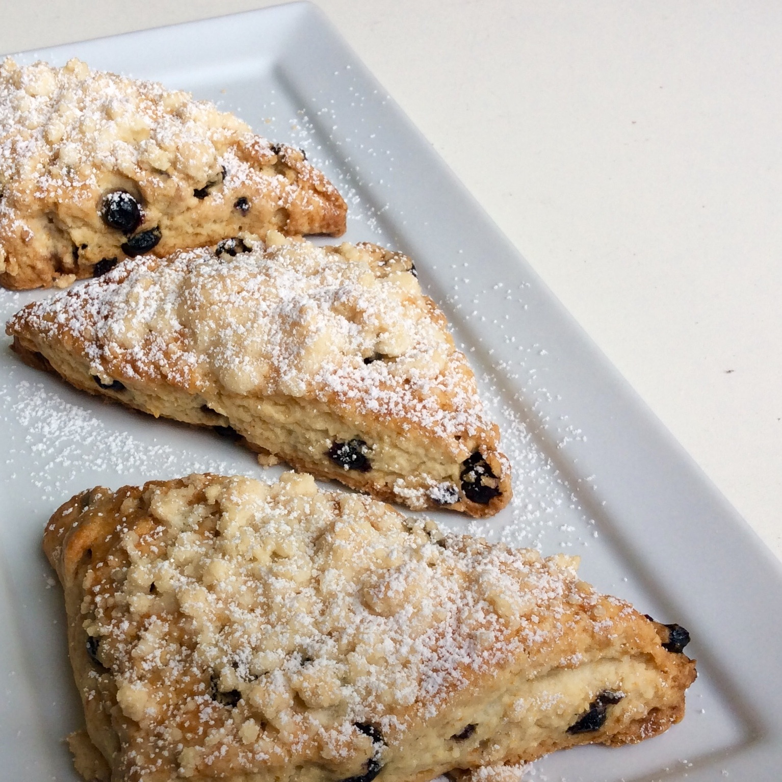 Hollywood Blueberry Lemon Scones