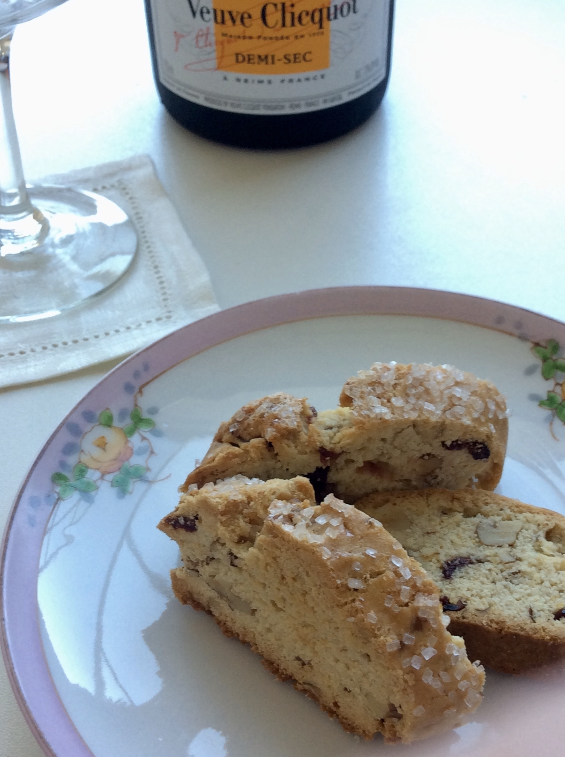 Biscotti are delicious with coffee, tea and wine…bake and enjoy!