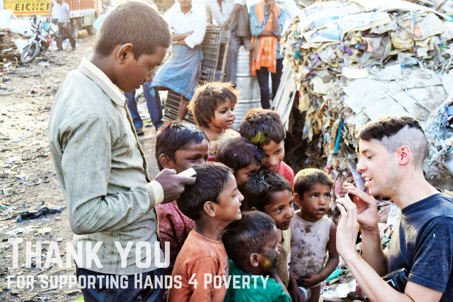 Hands 4 Zero Poverty H4ZP thank you