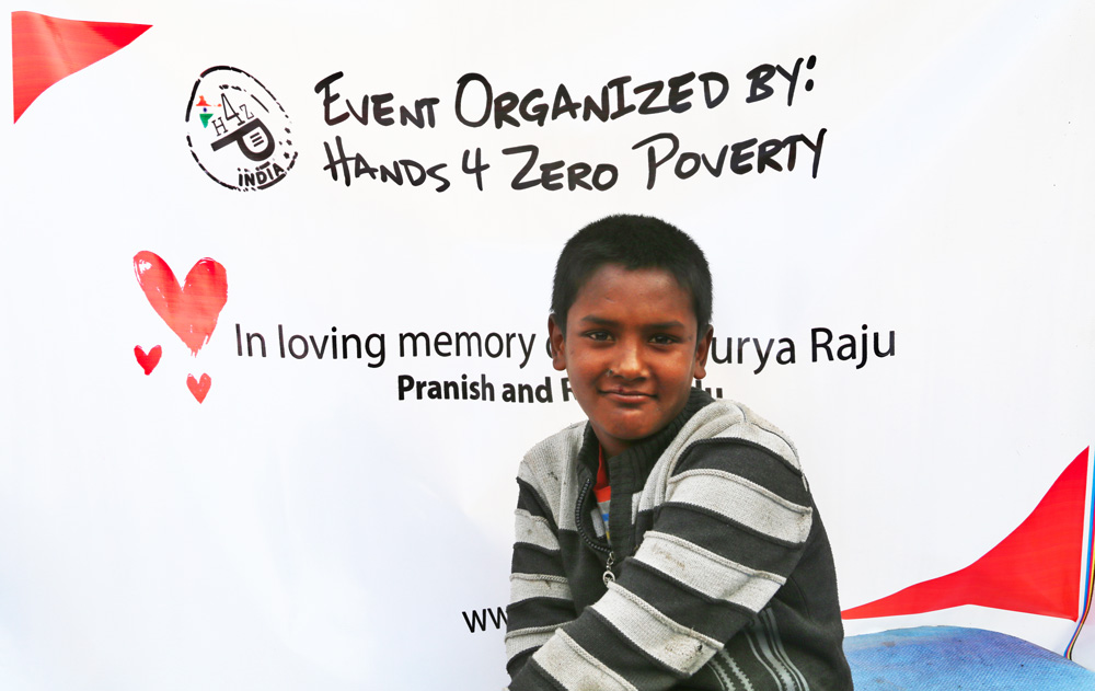Hands 4 Zero Poverty Food Camp