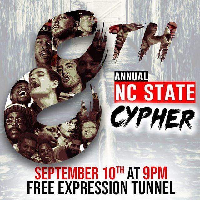 8th Annual Cyph 9/10 @ 9pm #CYPHERU8
