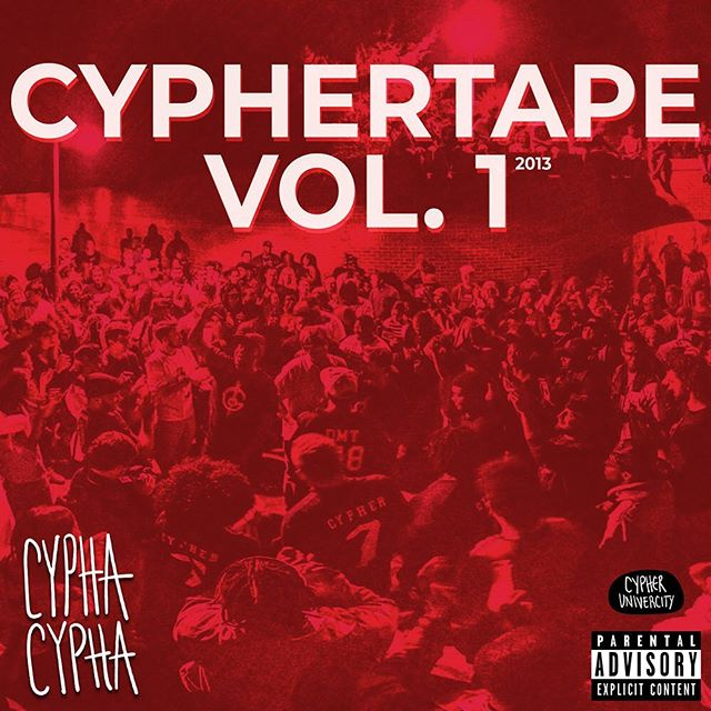 6 years ago we united to produce an iconic tape. We pulled rappers, producers and engineers from across NC together to create CypherTape Vol. 1. At the time it slid quietly out on Soundcloud, but it's been in rotation on our playlists ever since.  Today we're re-releasing this classic 11 track tape via our website. Tune in and listen to these dope tracks by Cypher Univercity collaborators like @eternalthemc, @ghost_dog_mc,  @jrusalam, @ShepBryan, @romejeterr, @Billie_Dutches, Say$o (RIP), Johnny Storm, Sonyae and more.  This album is not currently available for download - so you can only stream it via CyphaCypha.com. Thanks for listening and supporting our unique brand of hip hop.  Tag a friend who you freestyle with and let them know... CypherTape Vol. 2 is coming this summer.  #cyphacypha #carolinastandup #nchiphop #hiphop #ncstatecypher