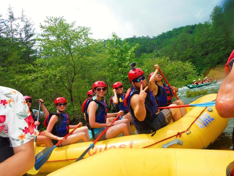 White Water Rafting, Skydiving, and Extreme Caving Adventures are just a few of the high adrenaline programs ODR offers!