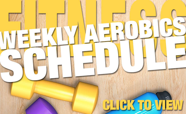 Get moving! - Check out these FREE group fitness classes!