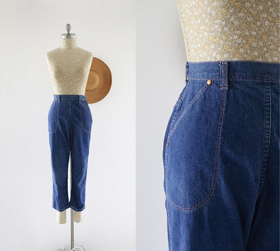 1950's ranch jeans