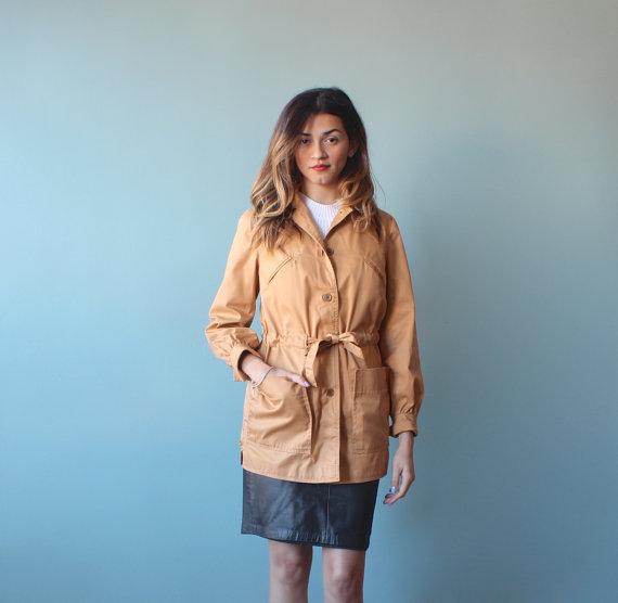 1980's trench coat