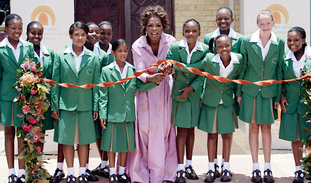 Oprah Winfrey has a big heart but could have achieved even greater impact.     Photo courtesy:  Academy of Achievement