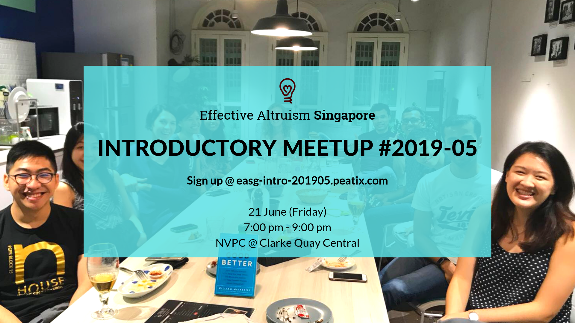 Effective Altruism Singapore_ Introductory Meetup #2019-05 Facebook Poster.png