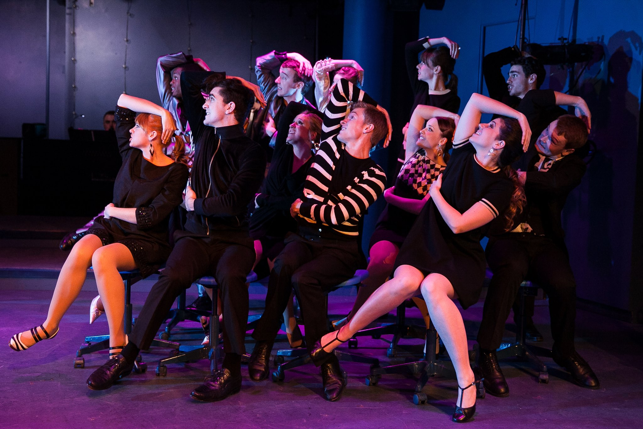 MERRILY WE ROLL ALONG, Pace University, NYC