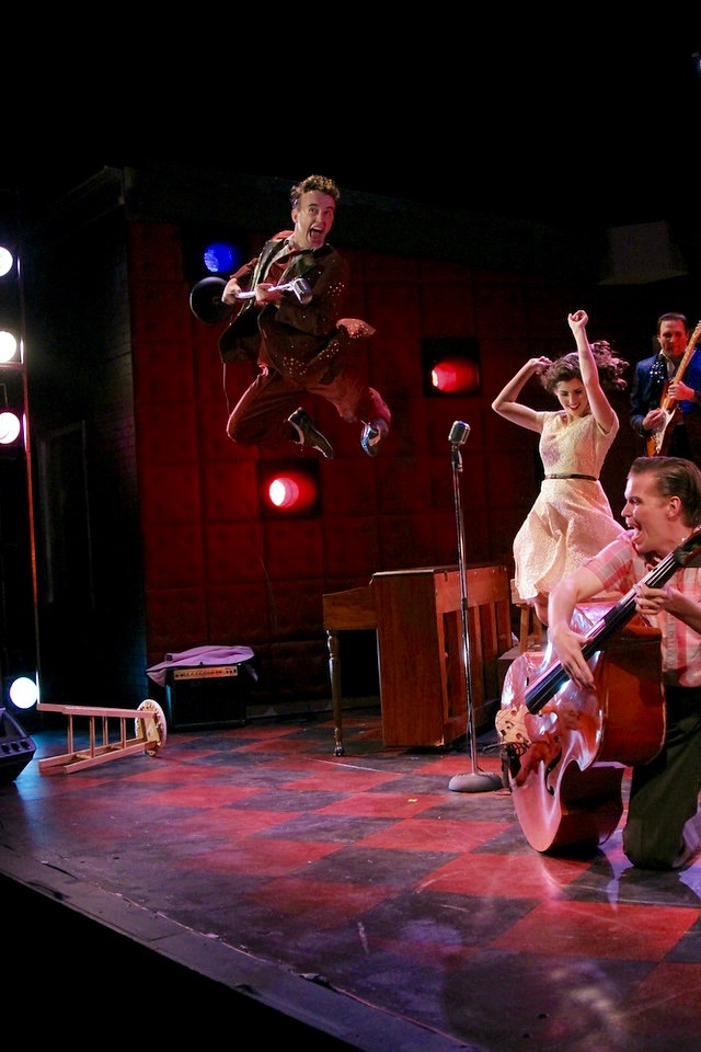 MILLION DOLLAR QUARTET, Cape Fear Regional Theatre