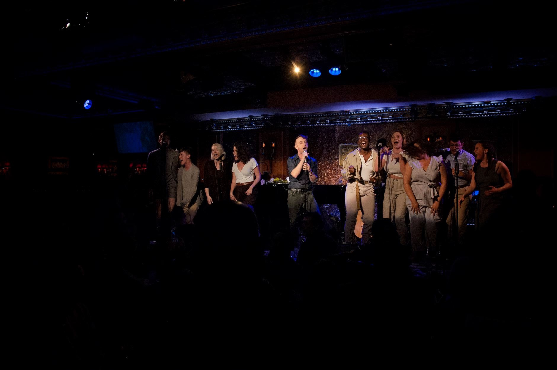 ACTOR THERAPY SINGS SPRING AWAKENING, 54 Below, NYC