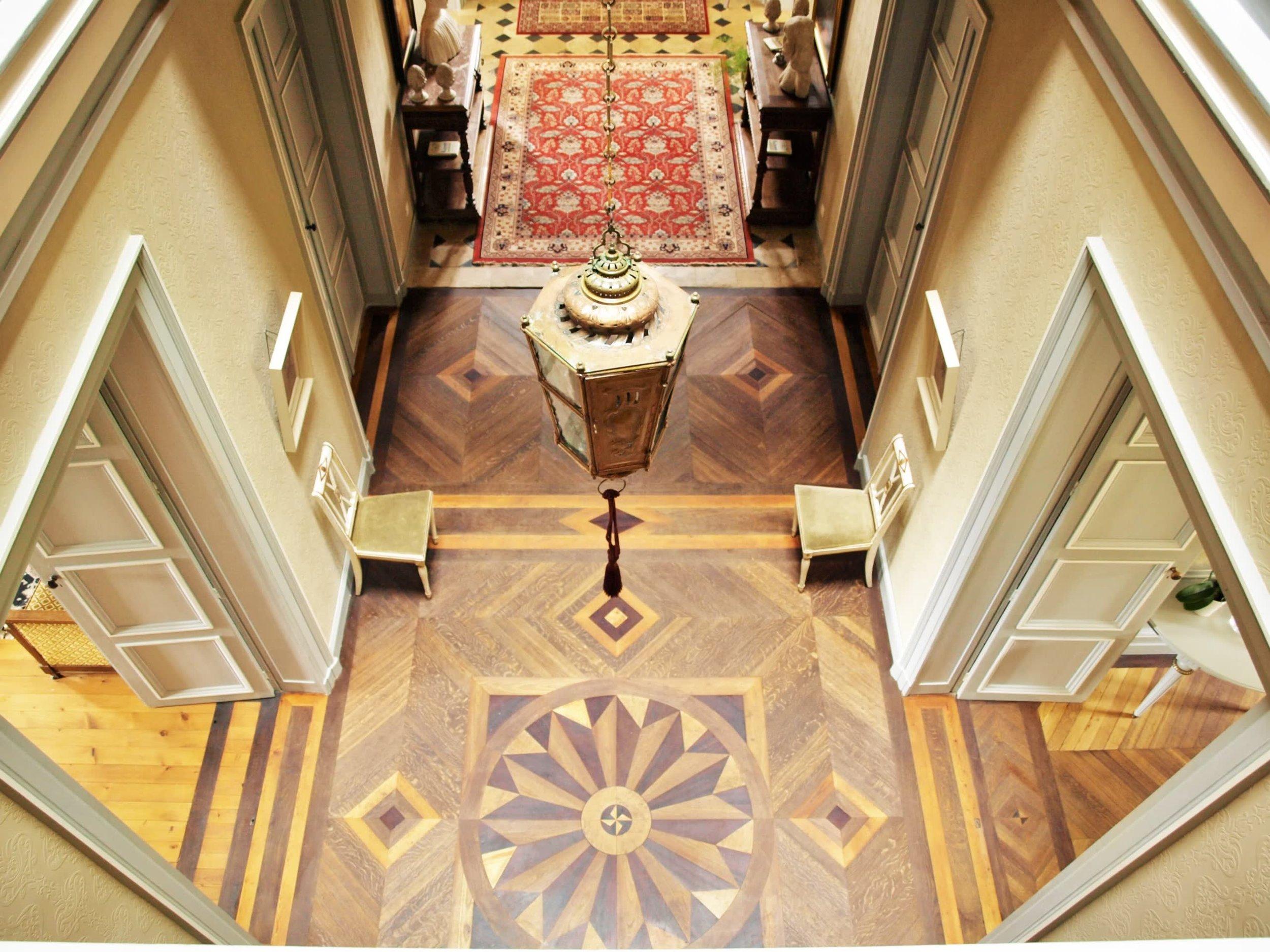 Chateau de la Pommeraye - charming boutique hotel chateau b&b spa normandy calvados Atrium(1).jpg