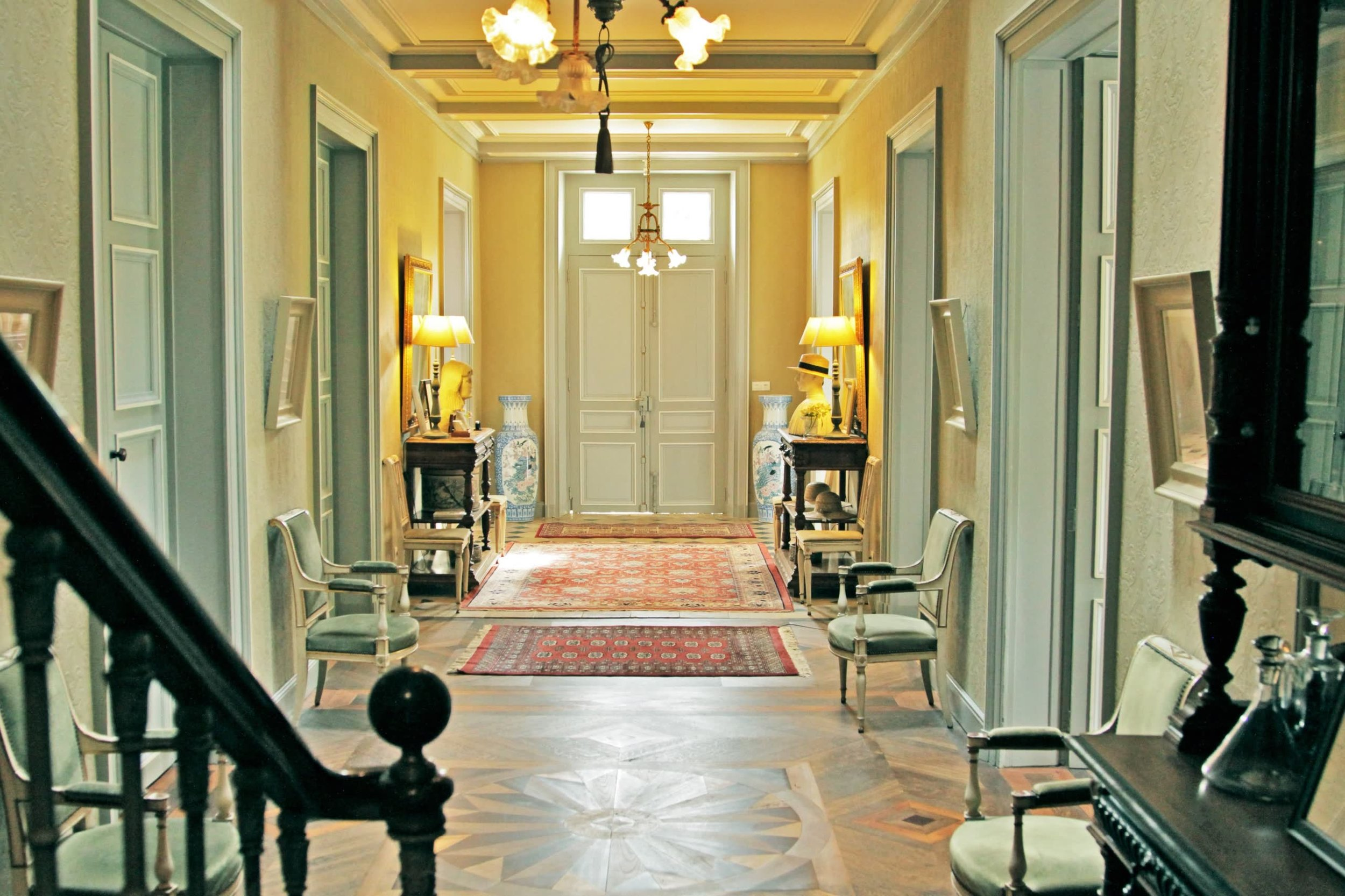 Chateau de la Pommeraye - charming boutique hotel chateau b&b spa normandy calvados Lobby(2).jpg