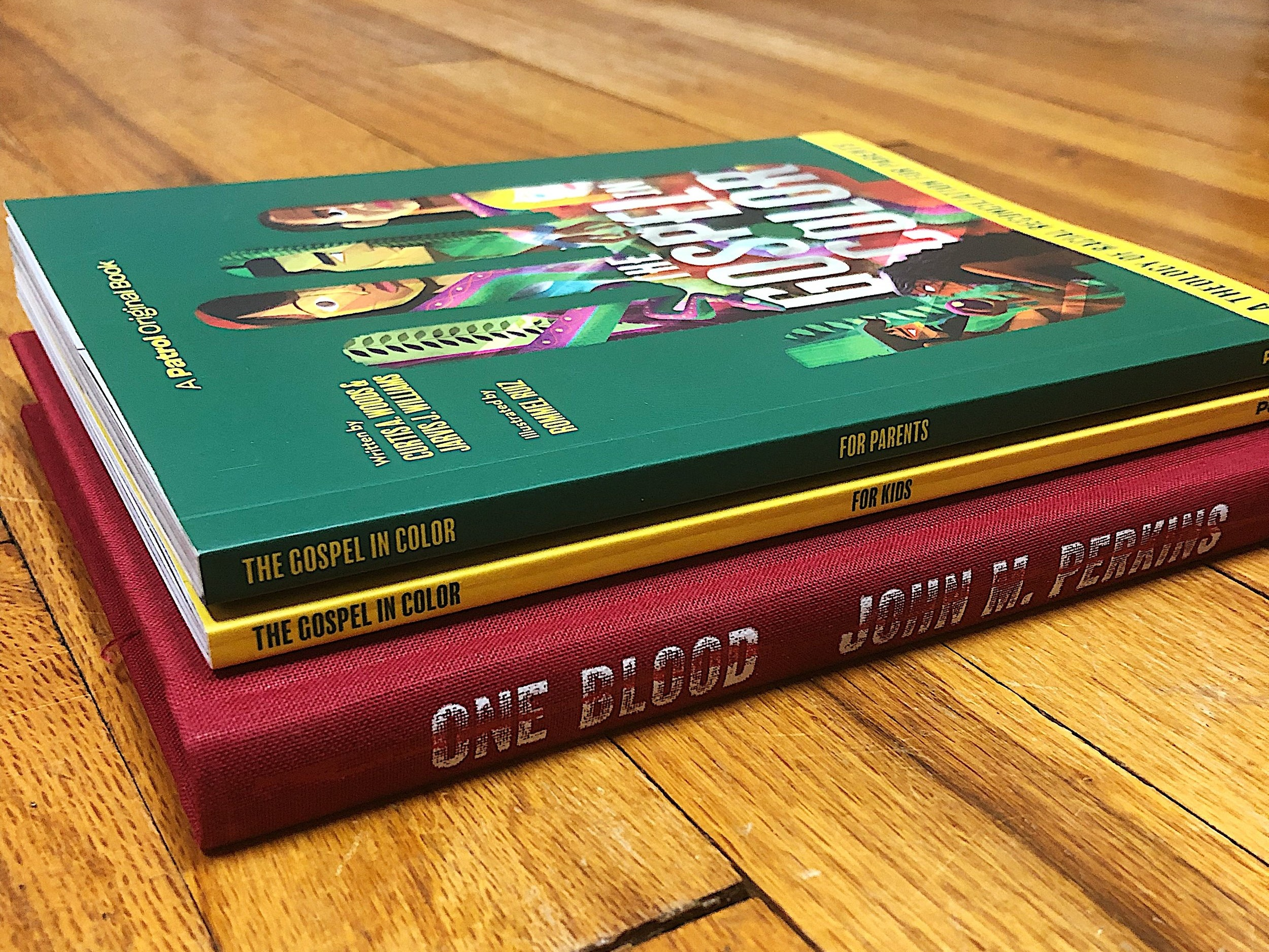 """""""The Gospel in Color"""" and """"One Blood"""" are the Karis Church OneRead books for February."""