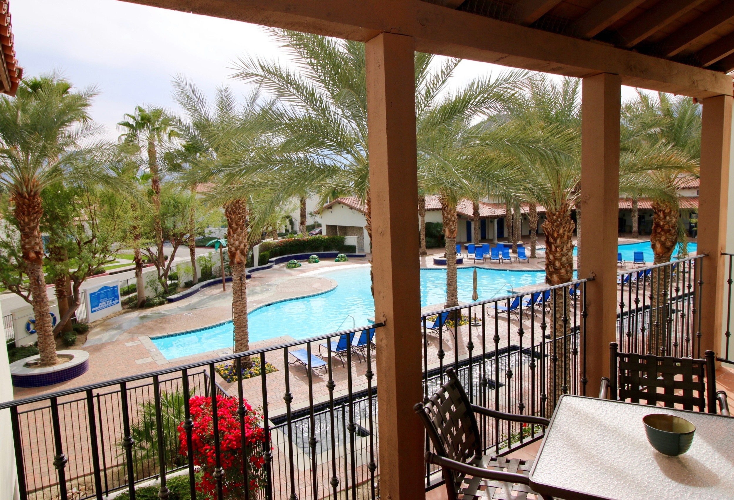 Upstairs Main Pool Condo @ Legacy Villas (2BR/2BA)