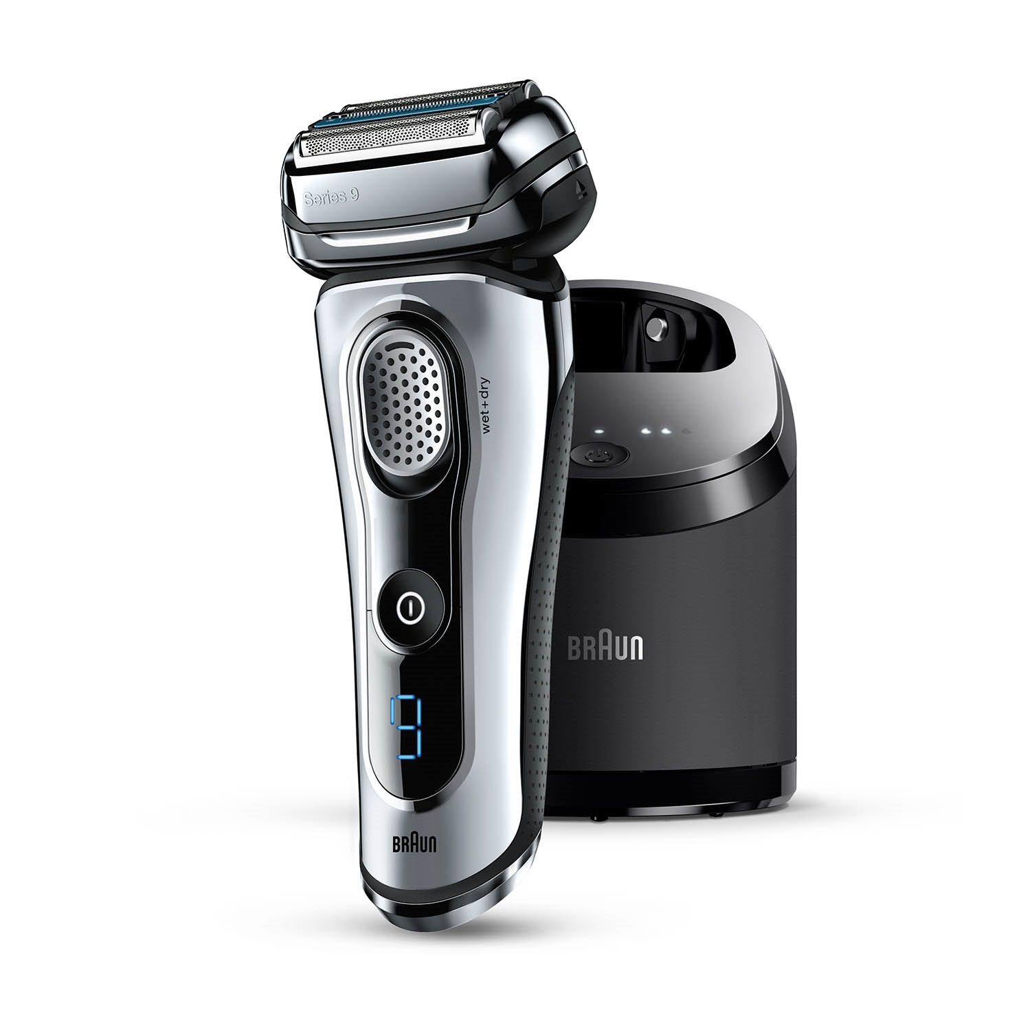 The Braun Series 9-9095cc Electric Shaver (image  via )