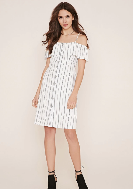 Forever 21's Contemporary Striped  Dress  ($29.90)