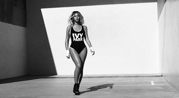 Another still from Ivy Park's campaign; image  via