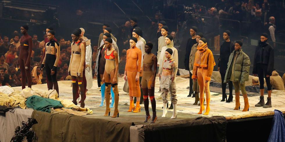 Defiant models closing the show; image  via