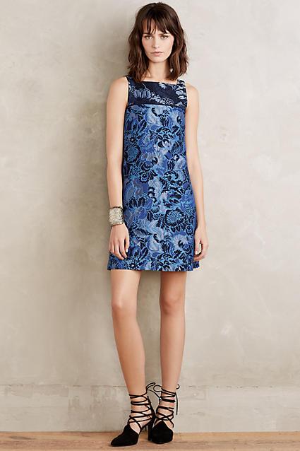 "Anthropologie's ""Delmara Dress"" for  $99.95"