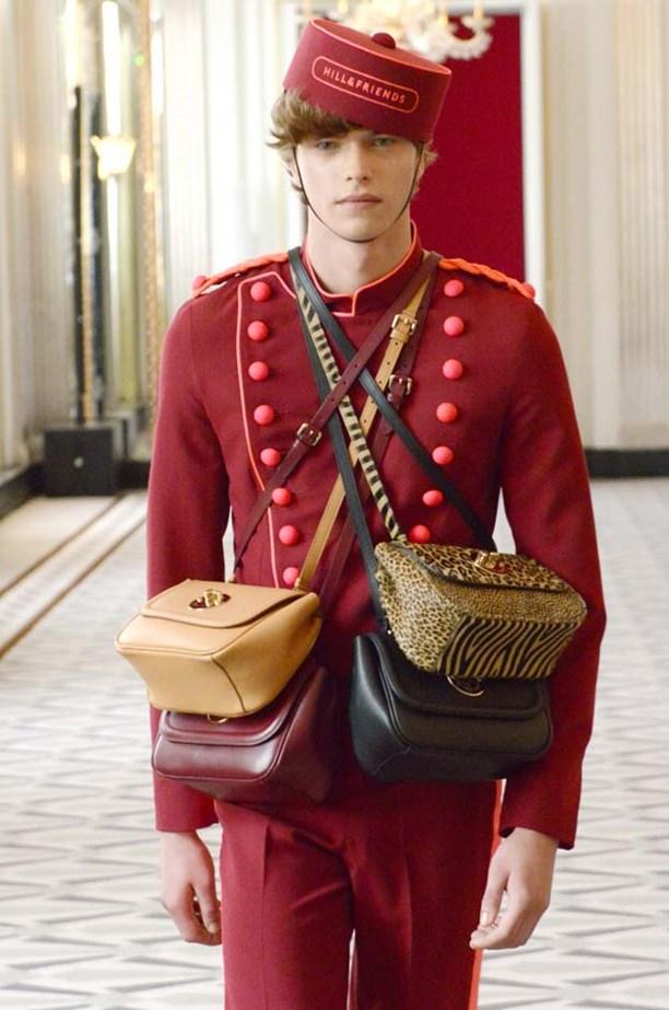Hill & Friends handbags; Image  via