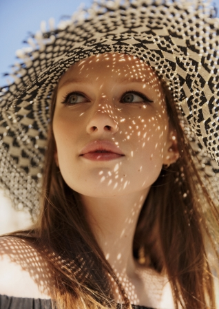 & Other Stories Frayed Straw Hat  $29 ; image  via