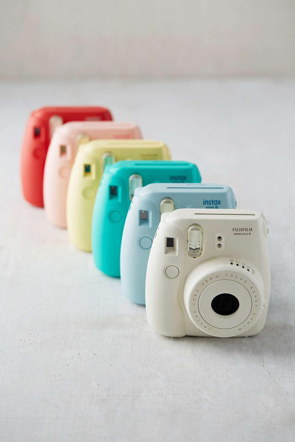 Urban Outfitters Fujifilm Instax Mini 8 Instant Camera  $70 ; image  via