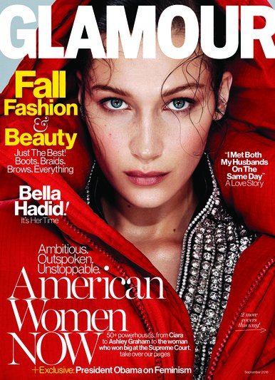 Bella for Glamour US