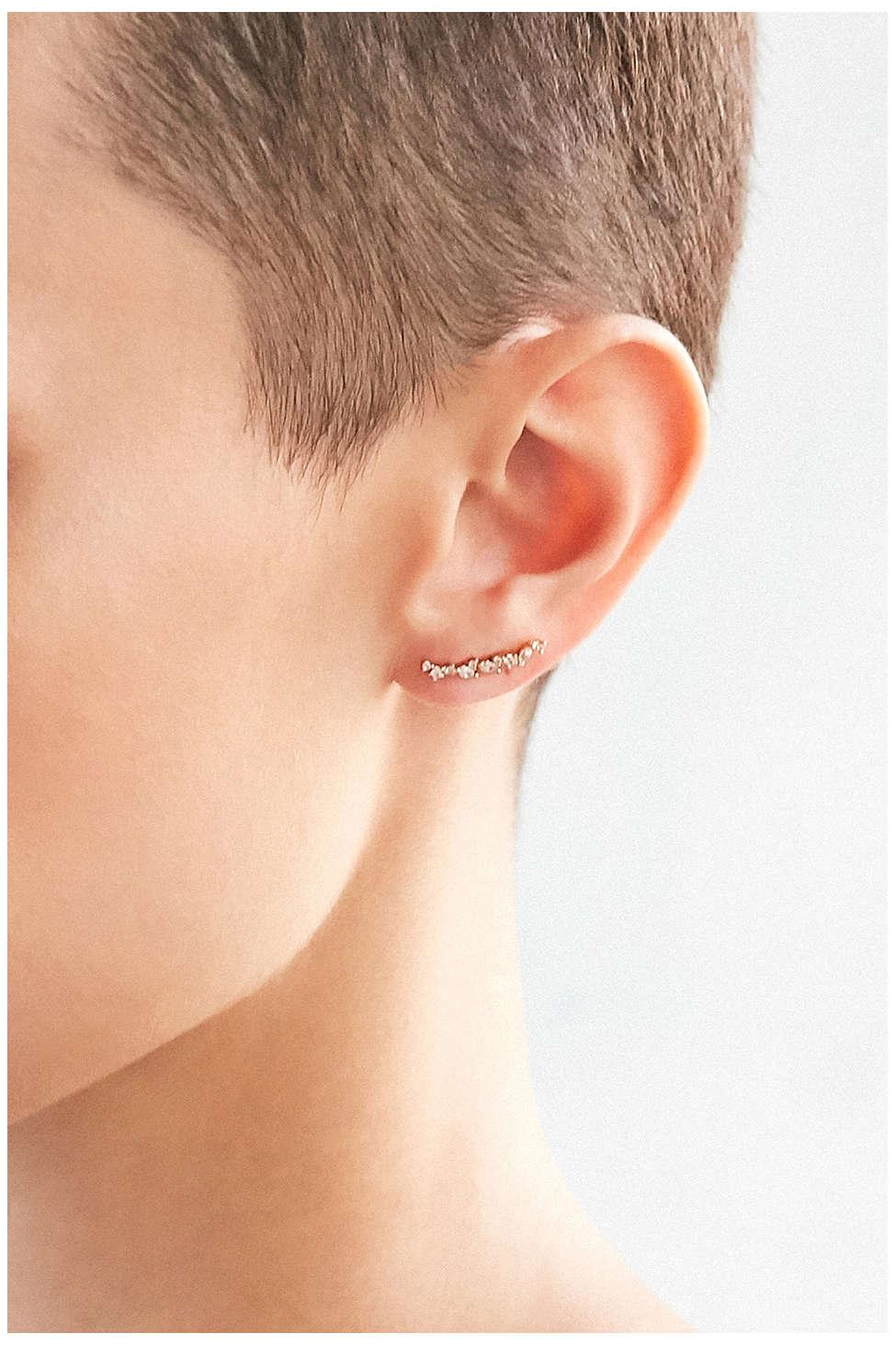 Double post earrings, $16.