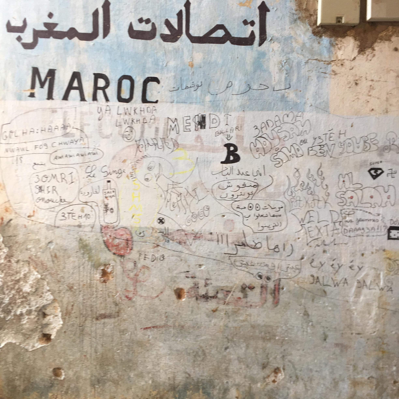 Graffiti is international.