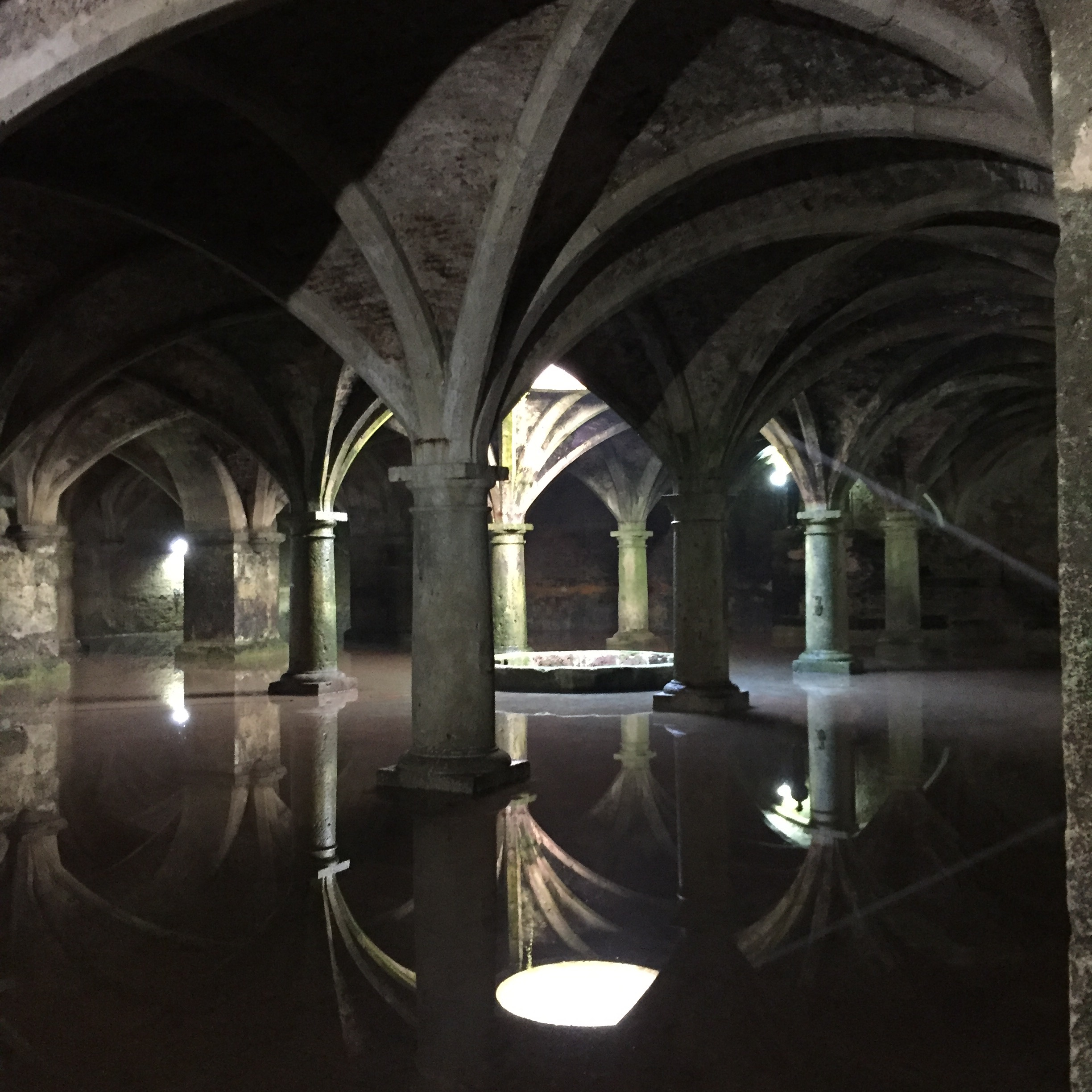 Portuguese water cisterns or the Chamber of Secrets?