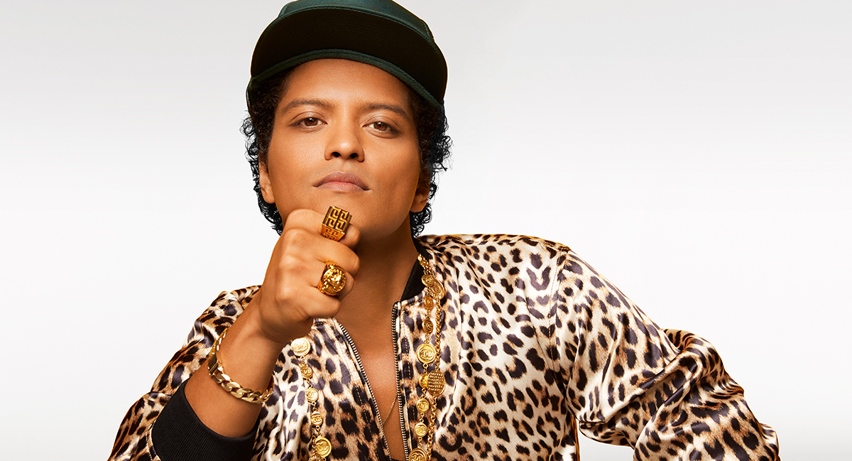 Bruno Mars; image  via