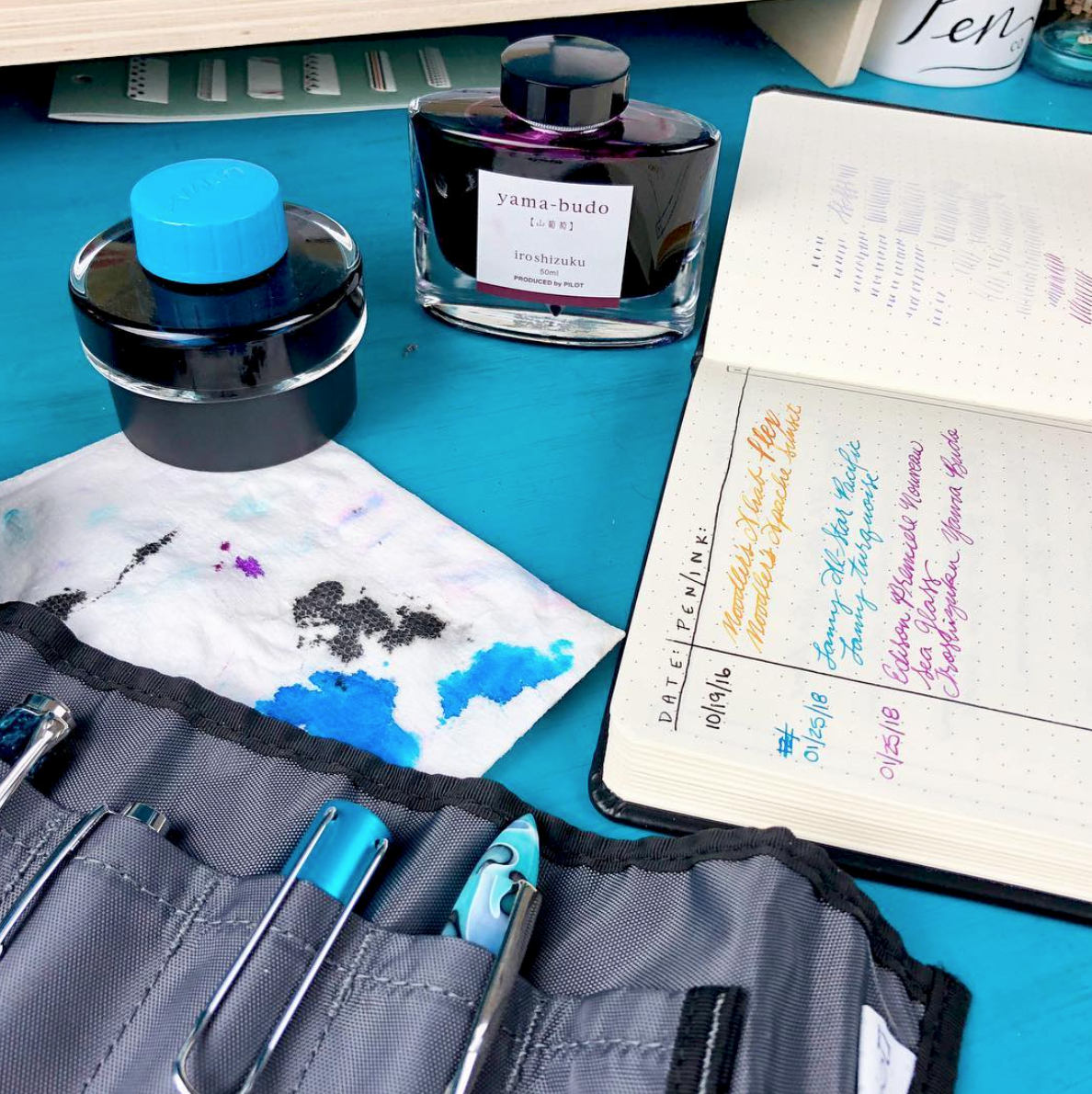 Fountain Pens - I've always been a self-proclaimed stationary junkie (and currently taking the next step in pondering starting a studyblr - wild, I know!), but I have recently delved into the world of fountain pens and customizing my own ink selections and loving every minute. My two current prized possessions are my Lamy Safari (fine) and Pilot Kakuno (medium) filled with various ink samples from Goulet Pens!