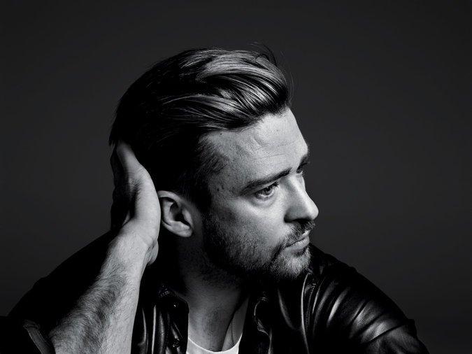 Justin Timberlake; image  via