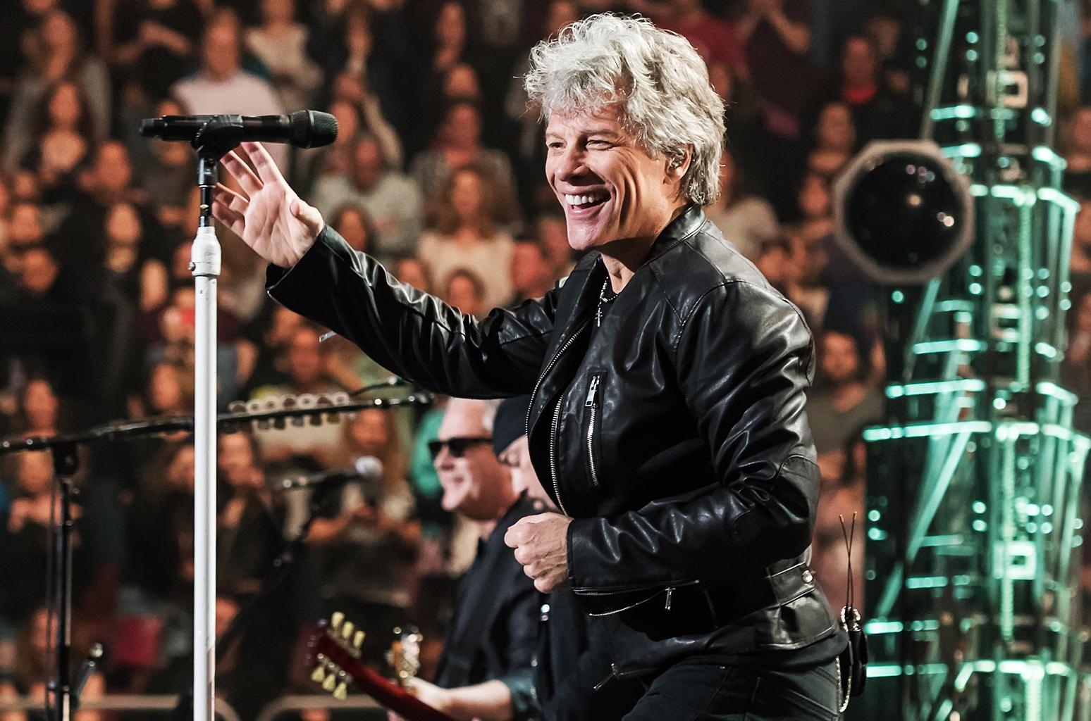 Bon Jovi; image  via