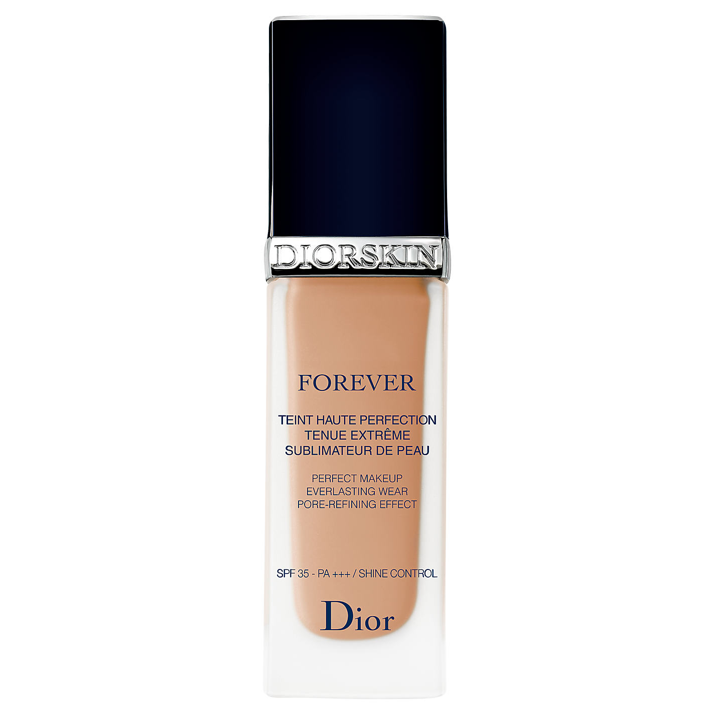Diorskin Forever Foundation - A favorite of every makeup artist with an Instagram page, the Diorskin Forever foundation is a product that has endless rave reviews. It applies best with a flat top brush and lasts all day without separating, or clinging to dry skin, which is always appreciated. Image via