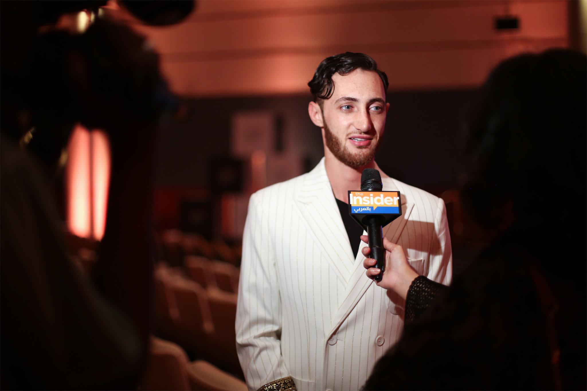 Jacob Abrian,founder & chief executive of the Arab Fashion Council | Image  Via