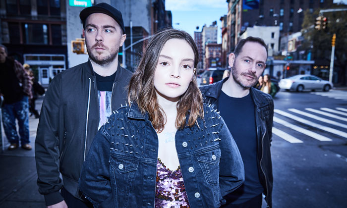 CHVRCHES, image  via