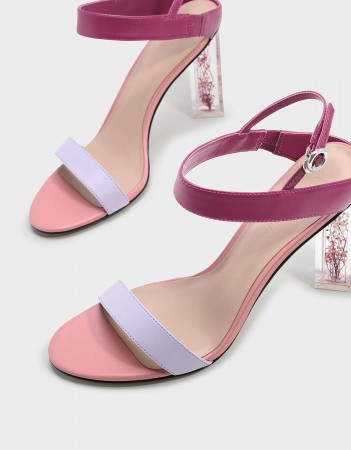 charles and keith pink lucite block heels.jpg