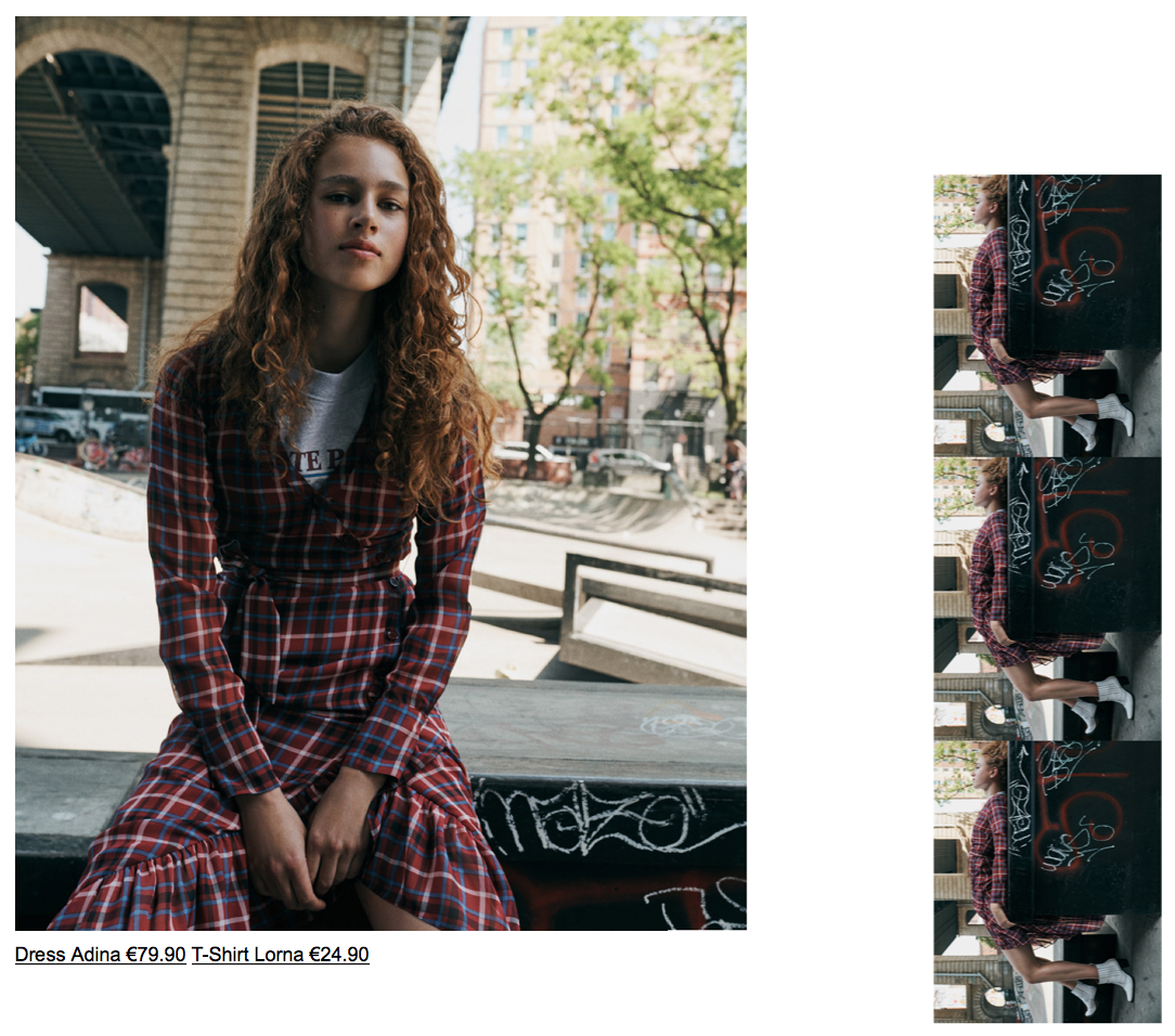 SKATE PARK - Edgy grunge photoshoot meets semi-androgynous patterns (and some silhouettes) to create the ultimate tomboy vibe.