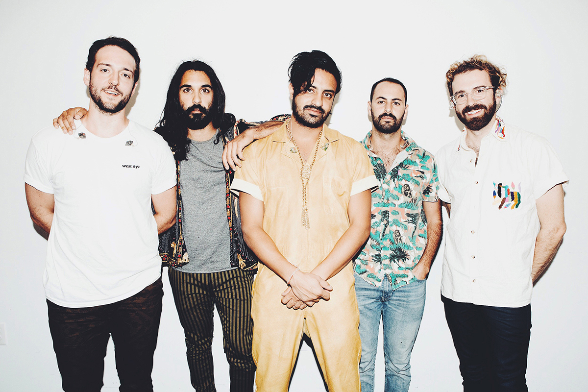 Young the Giant; image  via .