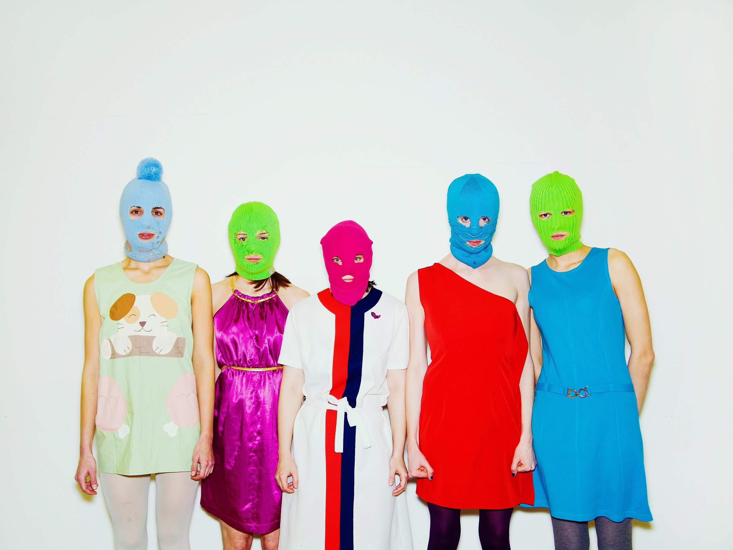 Pussy Riot. Image from  here