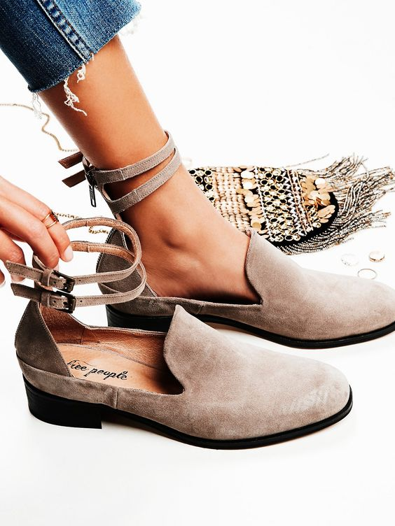 The trick works best on this type of shoe to sole connection!   Image via    Pinterest