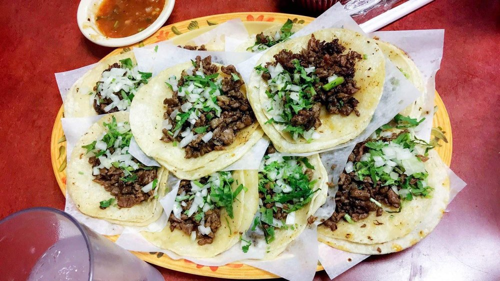 Taqueria Los Comales - An excellent choice for authentic late night Mexican food, featuring burritos and platillos alongside just tacos. Taqueria Los Comales also has churros!MenuHours: Closes at 4 am on Friday and Saturday, 12 or 1 am on other daysImage via