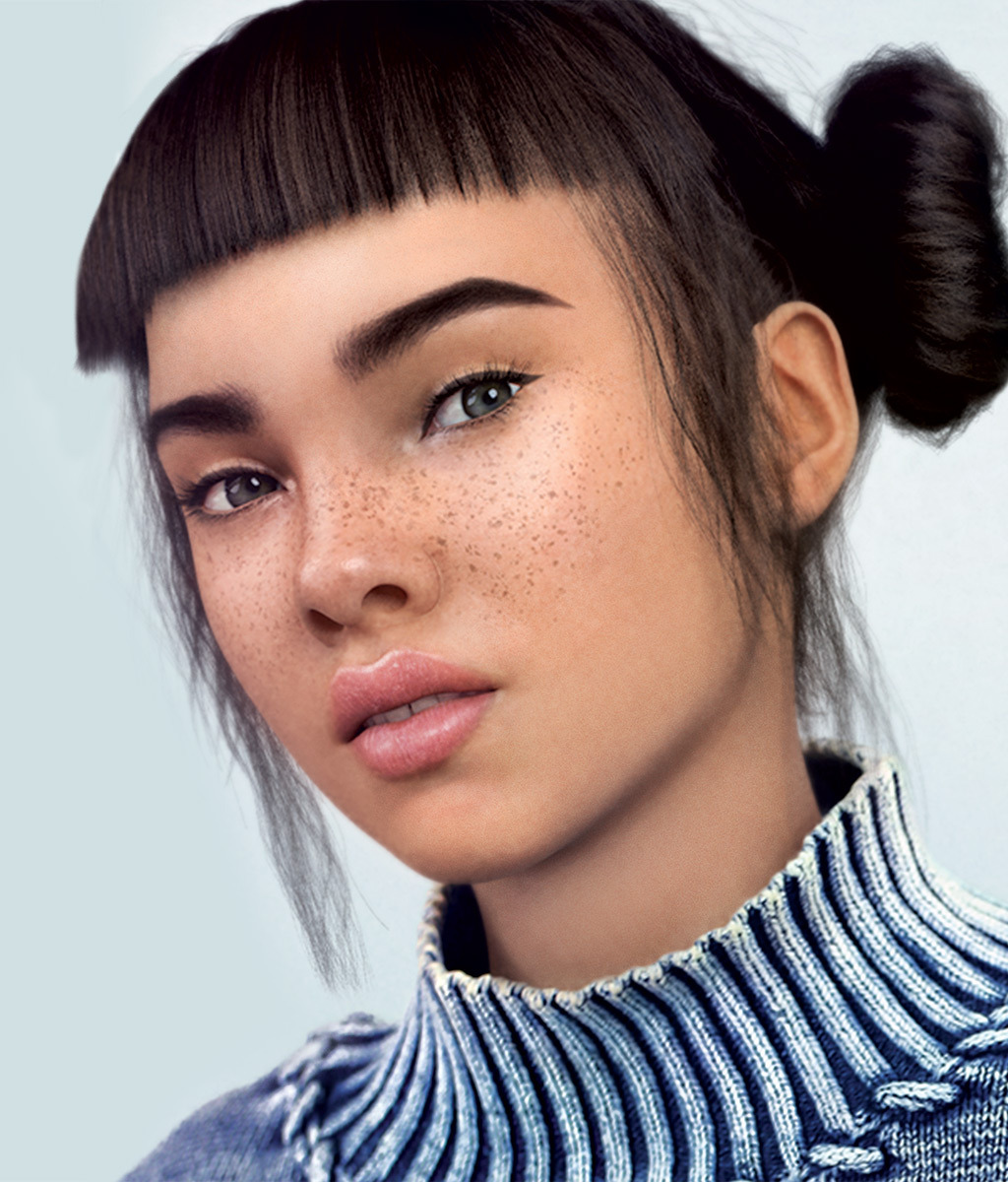 Instagram superstar Miquela Sousa is one of many new CGI Influencers to hop on the scene. Photo  via
