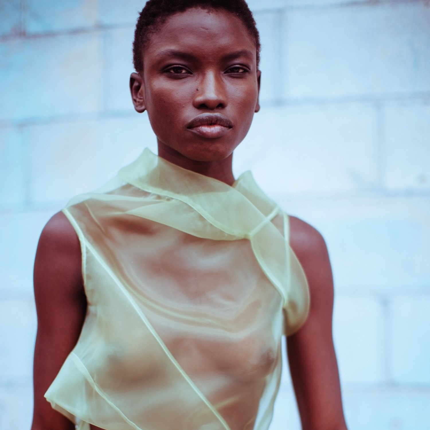 Eckhaus Latta's SS18 Collection featured on Dazed Digital  via .