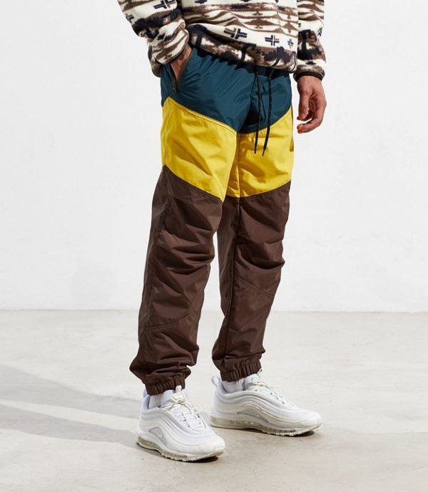 Technical Pants - Functional pants have always existed, but brands have started picking up on how consumers want clothes that work with them and make a stylish statement. Windbreaker pants, nylon and elastic-waistbands don't just have to be for your hiking trip.