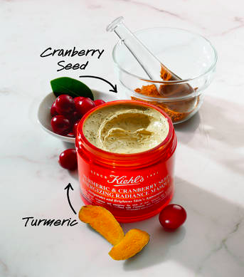 Kiehls Turmeric and Cranberry Seed Mask - This is the only face mask I own and will ever choose to buy again. I've tried your charcoal, sheet, and bubble masks, but this is the only one I've found that really does what it says it will. After leaving a thick layer of the magical goop on your face for twenty minutes or so, your skin will be visibly more radiant and dewy and feel energized and refreshed.